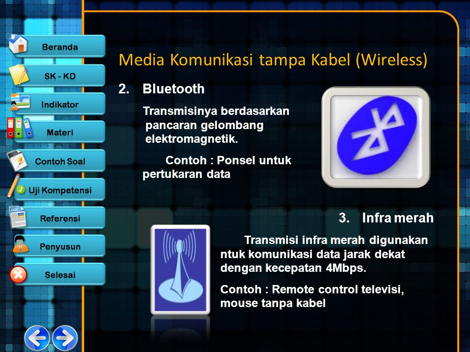 Media Komunikasi tampa Kabel (Wireless)