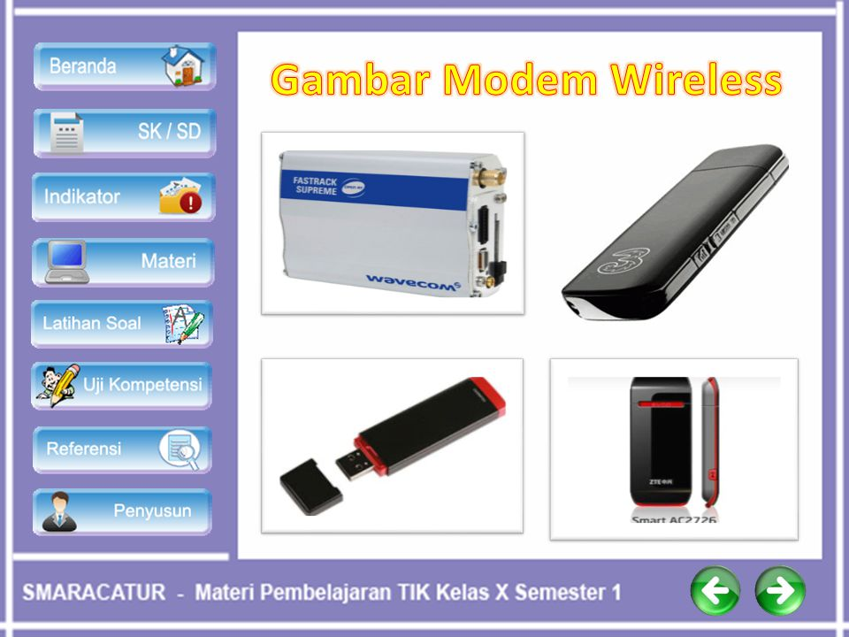 Gambar Modem Wireless