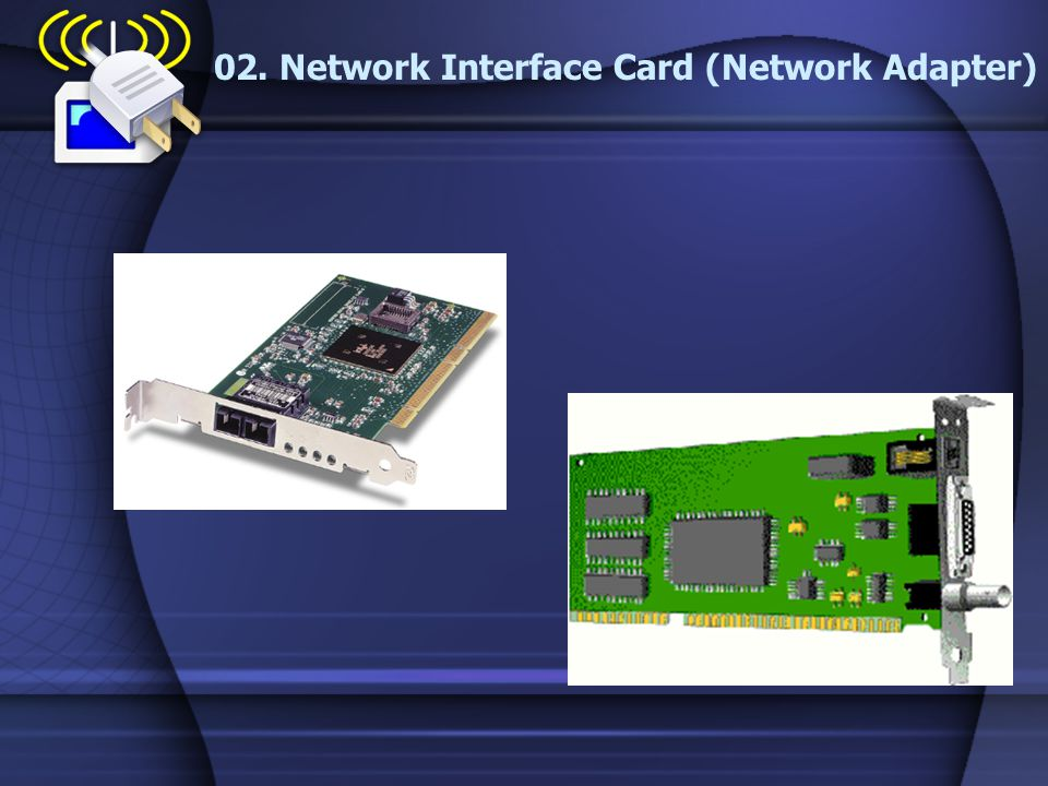 02. Network Interface Card (Network Adapter)