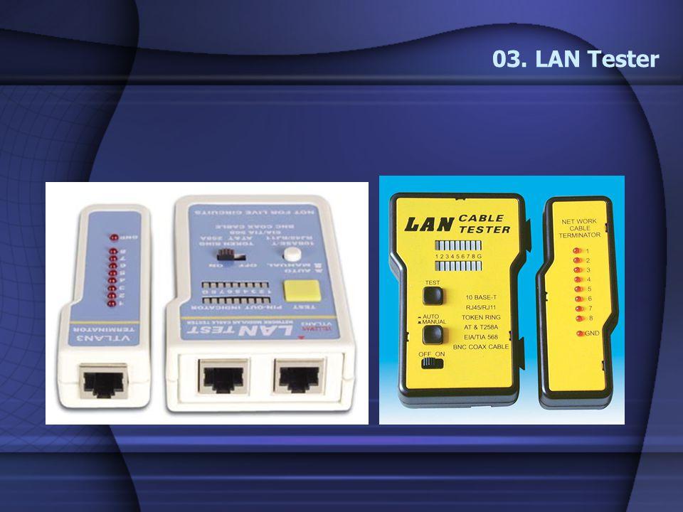 03. LAN Tester
