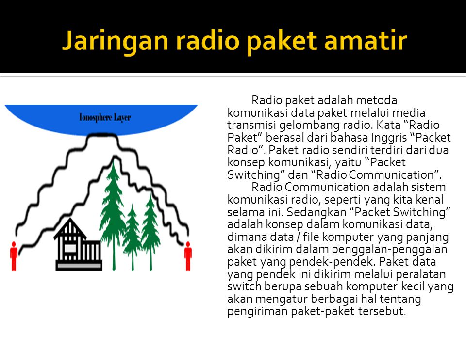 Jaringan radio paket amatir
