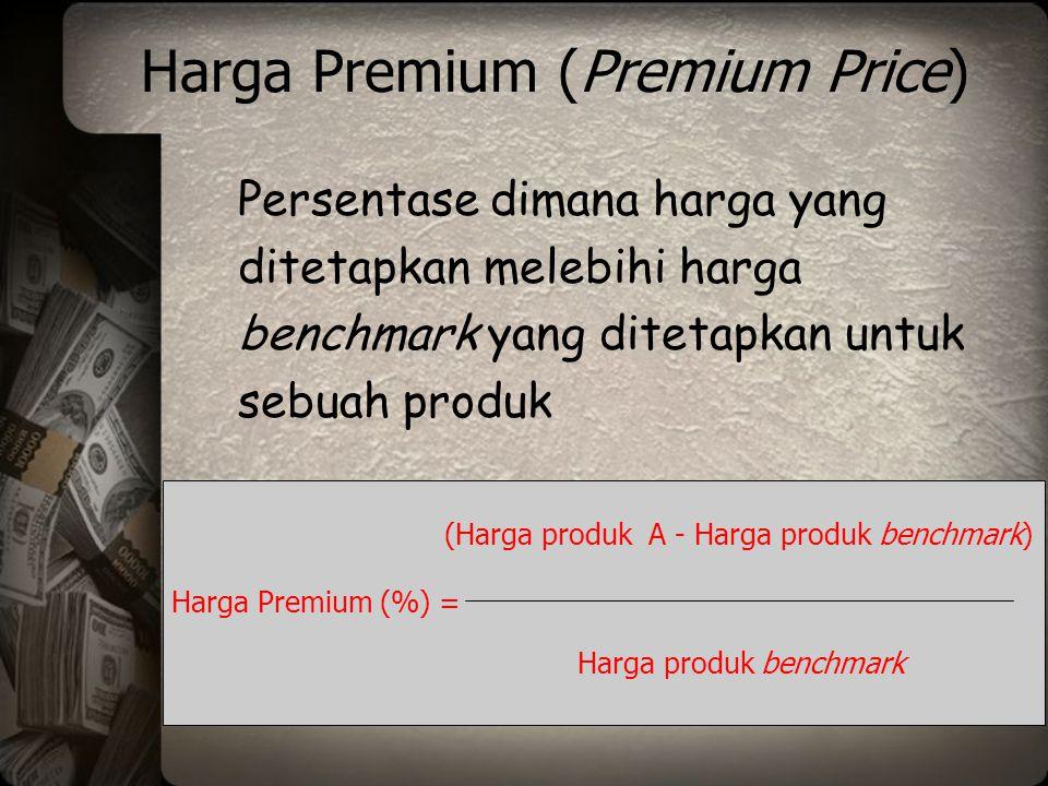 Harga Premium (Premium Price)