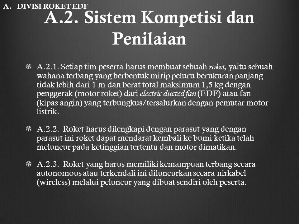 A.2. Sistem Kompetisi dan Penilaian