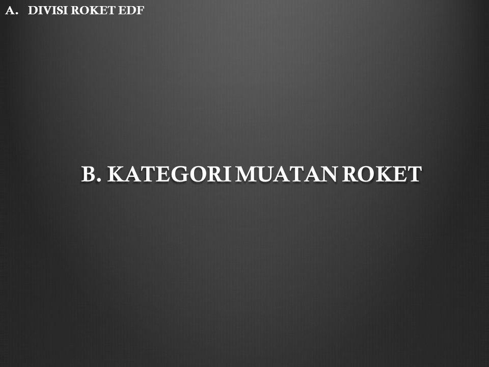 B. KATEGORI MUATAN ROKET