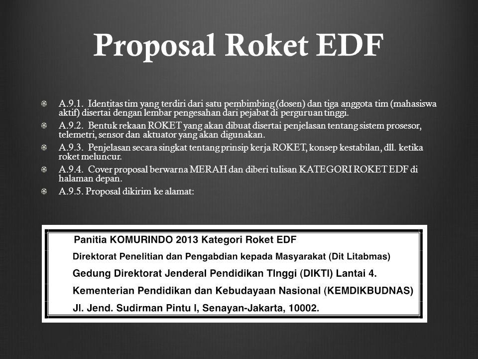 Proposal Roket EDF