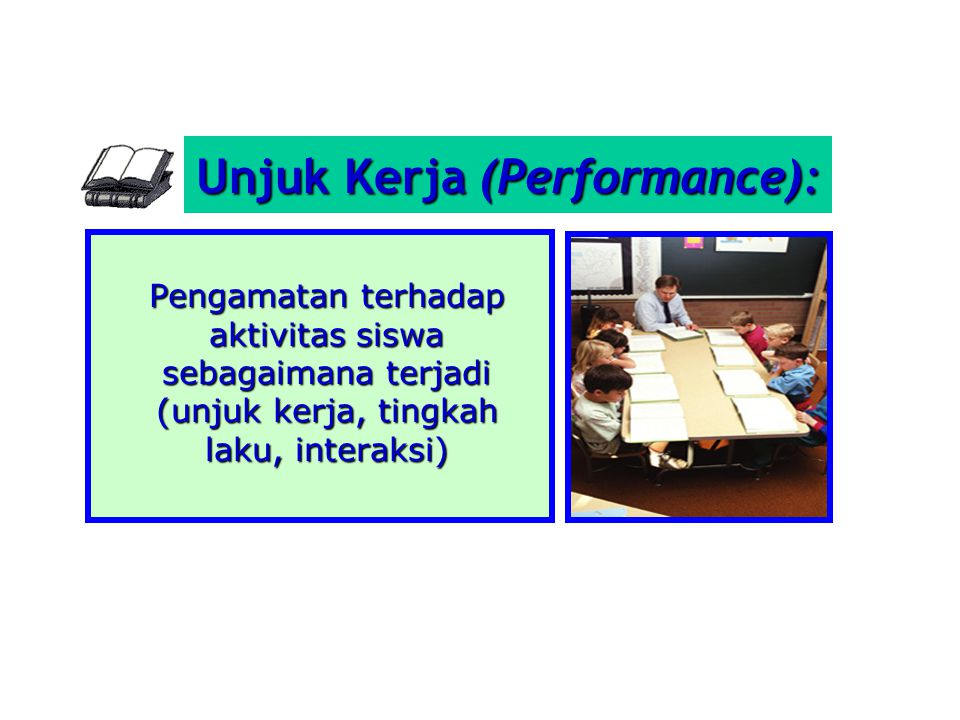 Unjuk Kerja (Performance):