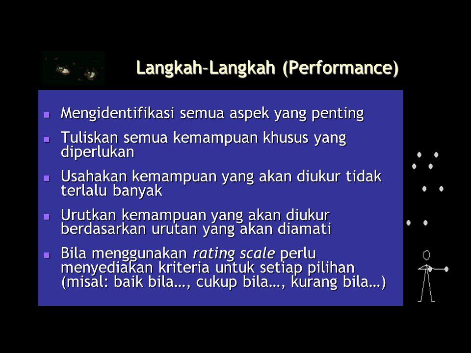 Langkah–Langkah (Performance)