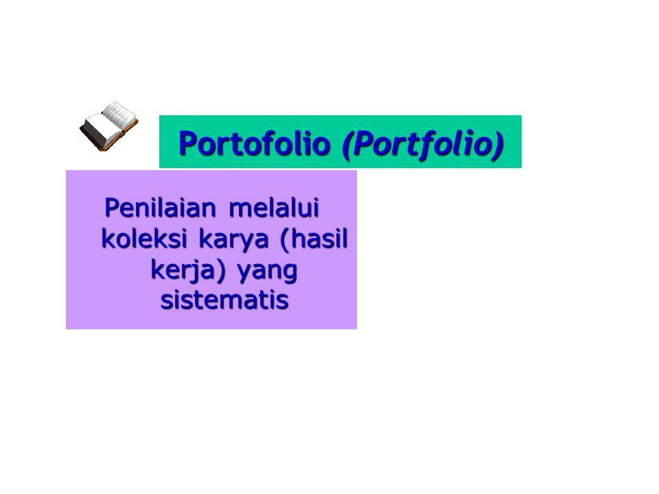 Portofolio (Portfolio)