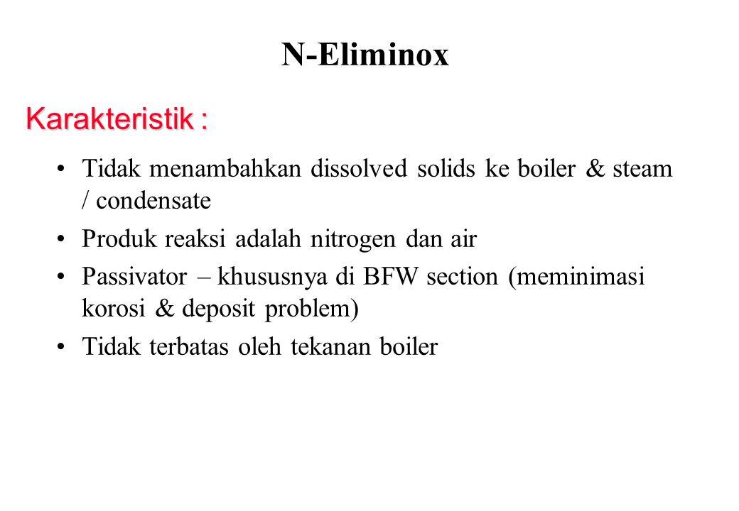 N-Eliminox Karakteristik :
