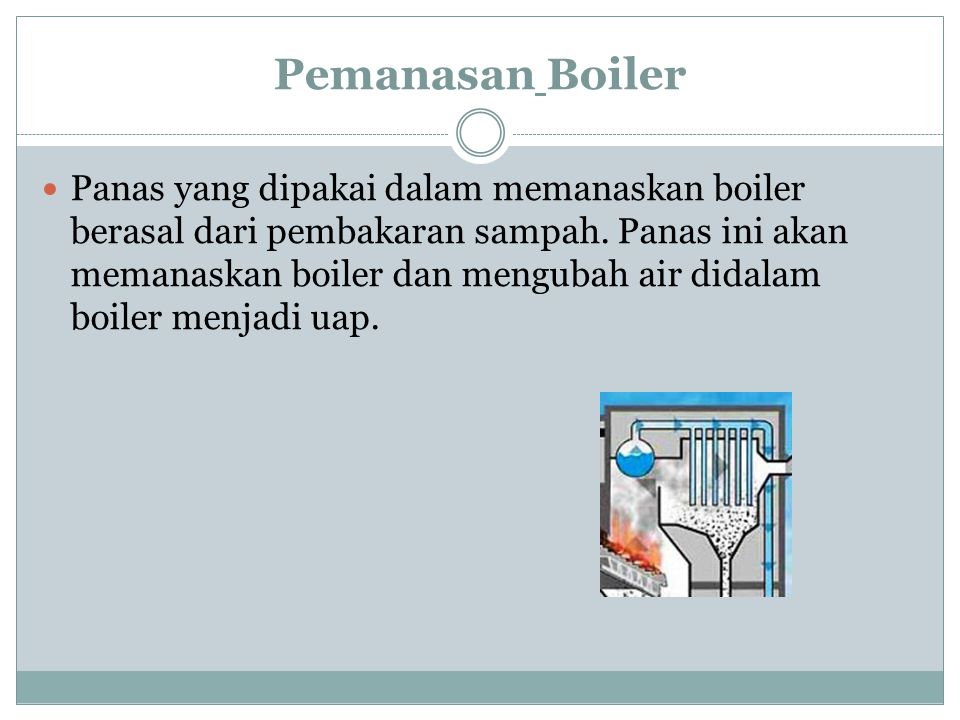 Pemanasan Boiler
