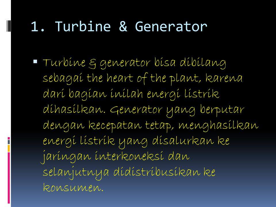 1. Turbine & Generator