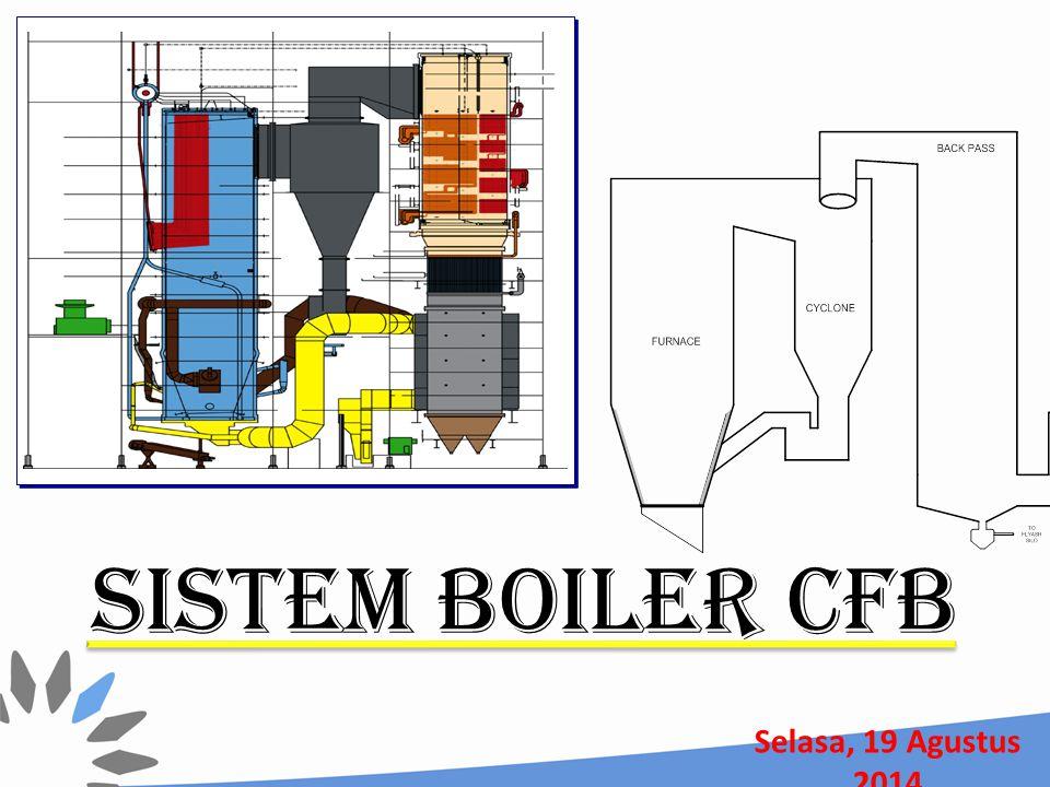 SISTEM BOILER CFB Rabu, 05 April 2017