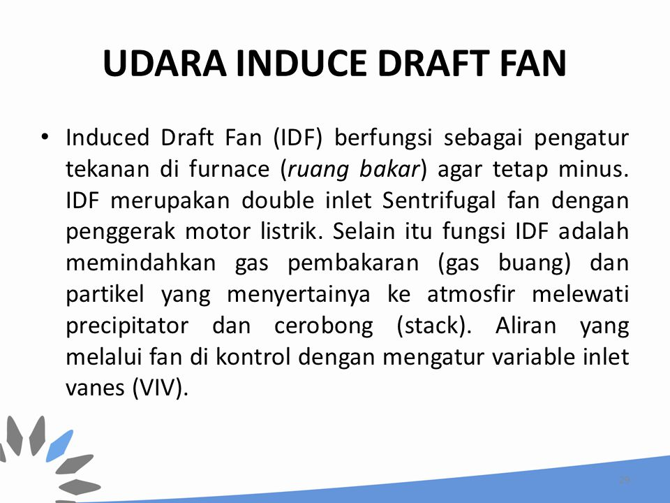 UDARA INDUCE DRAFT FAN