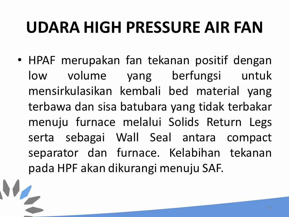 UDARA HIGH PRESSURE AIR FAN