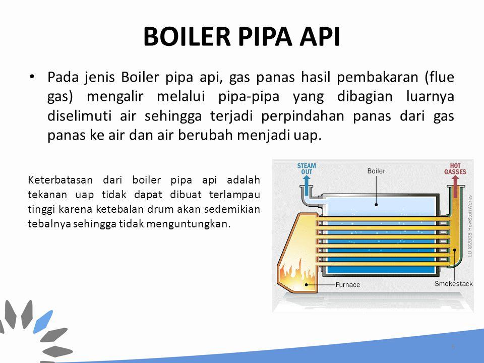 BOILER PIPA API