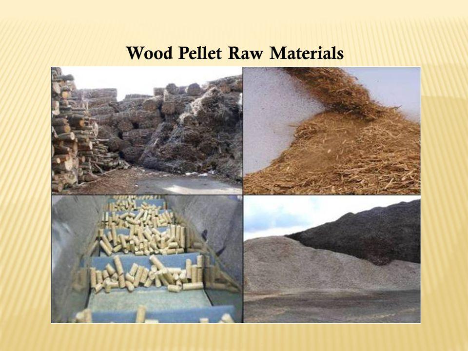 Wood Pellet Raw Materials