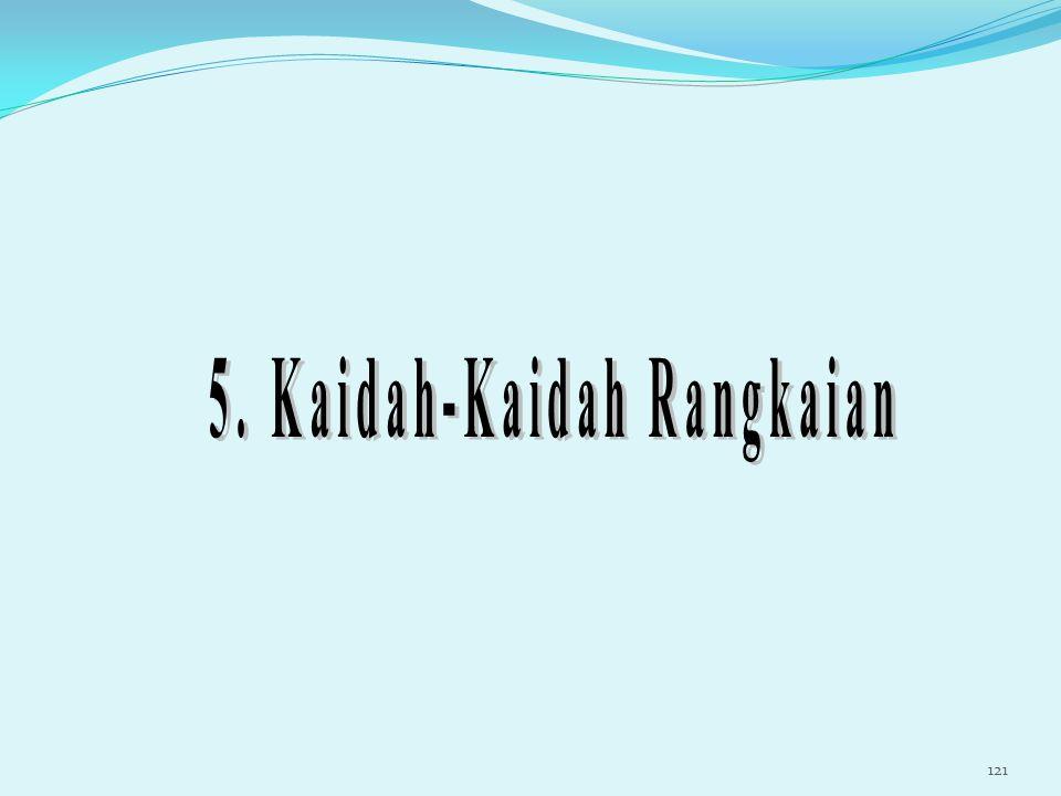 5. Kaidah-Kaidah Rangkaian