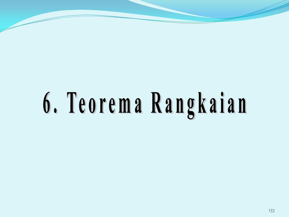 6. Teorema Rangkaian