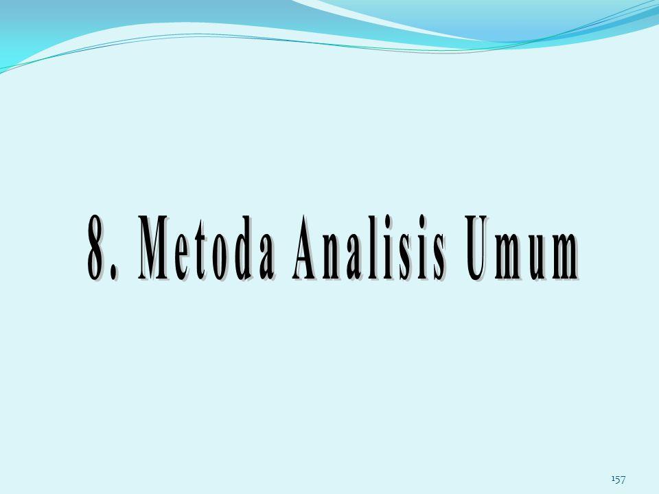 8. Metoda Analisis Umum