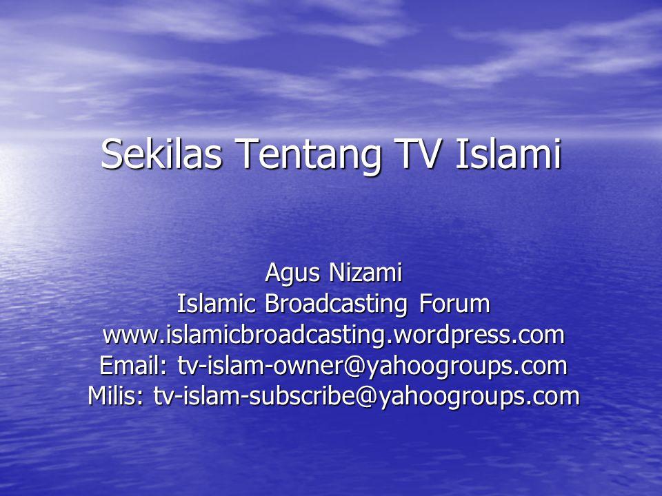Sekilas Tentang TV Islami