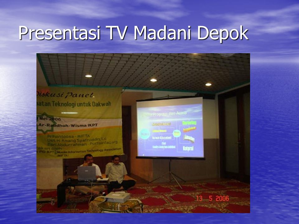 Presentasi TV Madani Depok