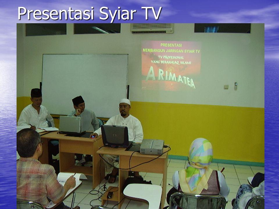 Presentasi Syiar TV
