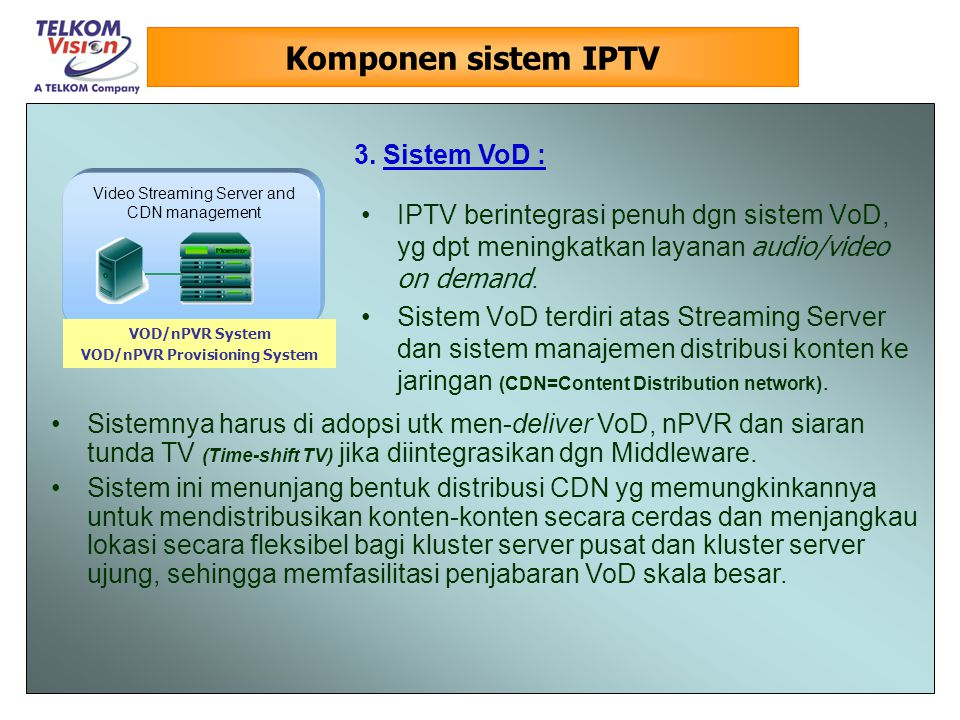 VOD/nPVR Provisioning System