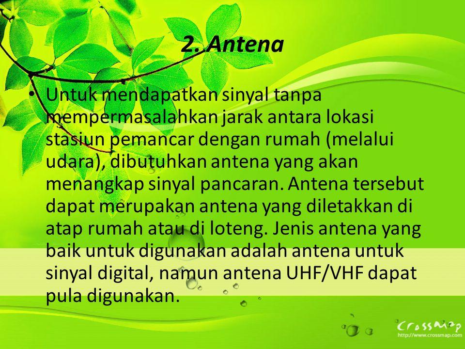 2. Antena