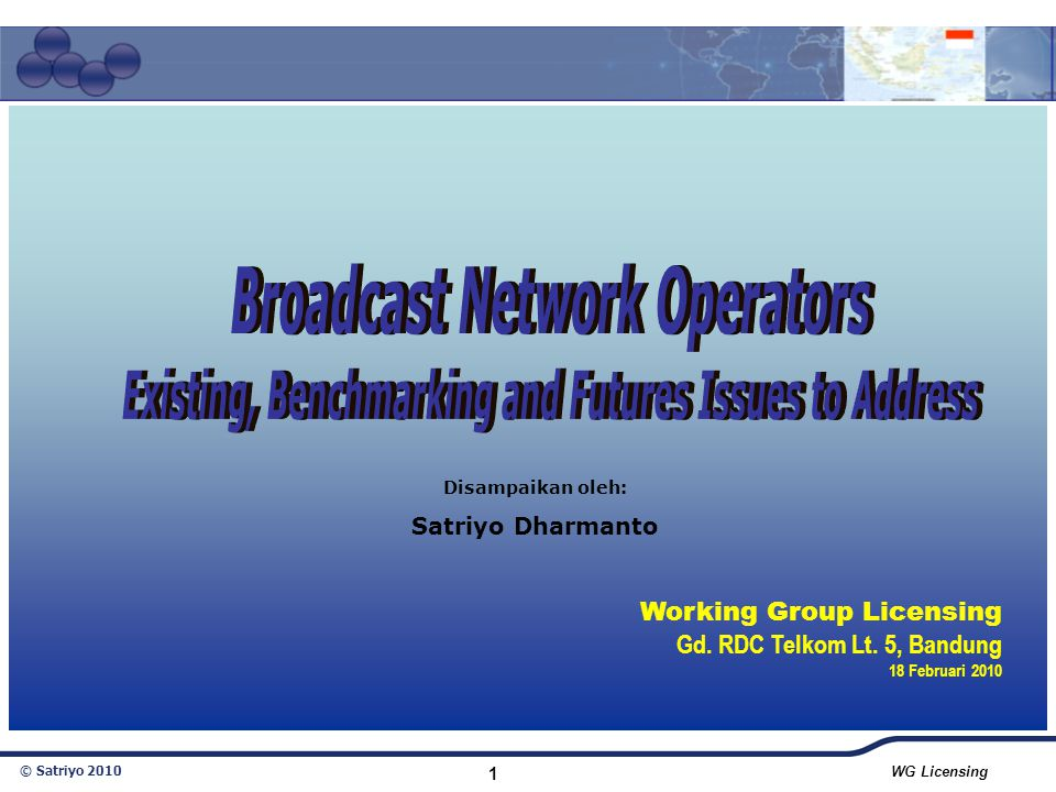 Broadcast Network Operators