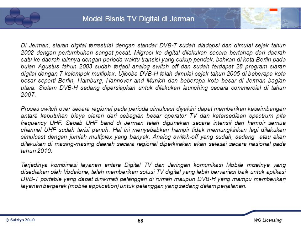 Model Bisnis TV Digital di Jerman