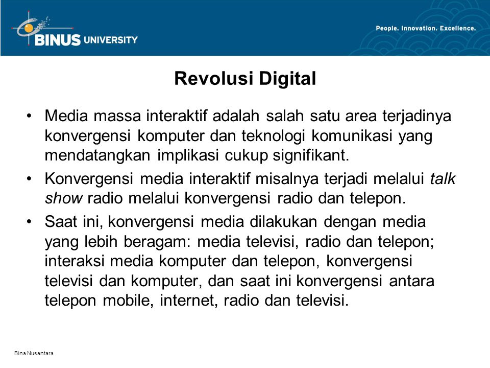 Revolusi Digital