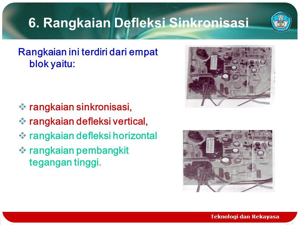 6. Rangkaian Defleksi Sinkronisasi
