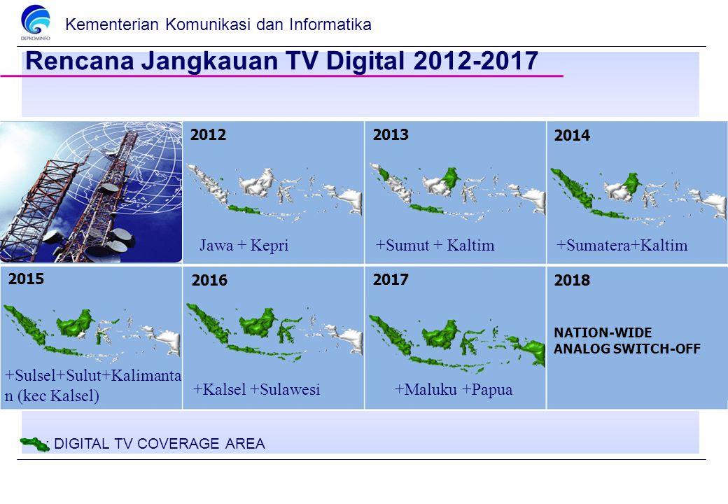 Rencana Jangkauan TV Digital 2012-2017
