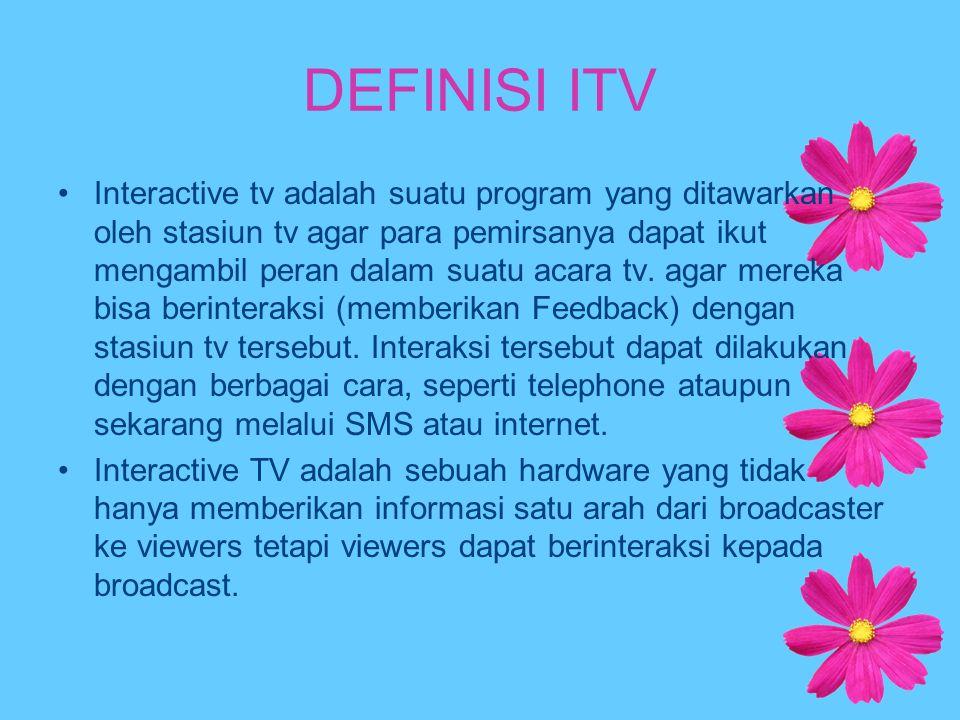 DEFINISI ITV