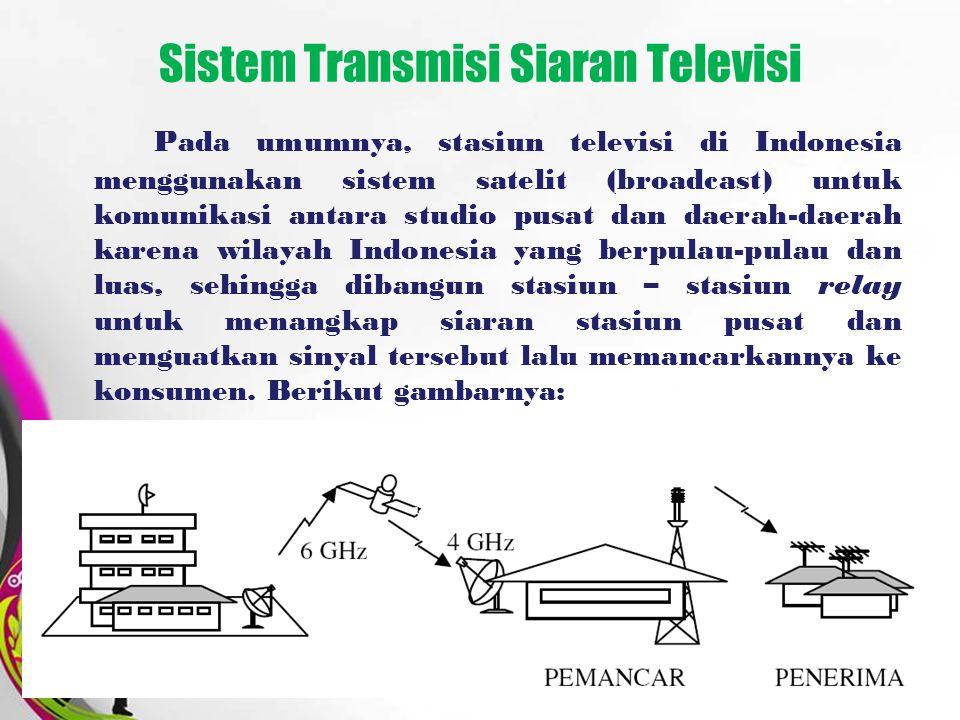 Sistem Transmisi Siaran Televisi