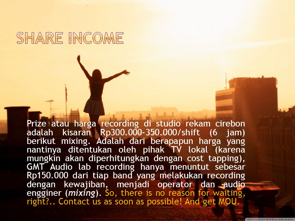 Share income