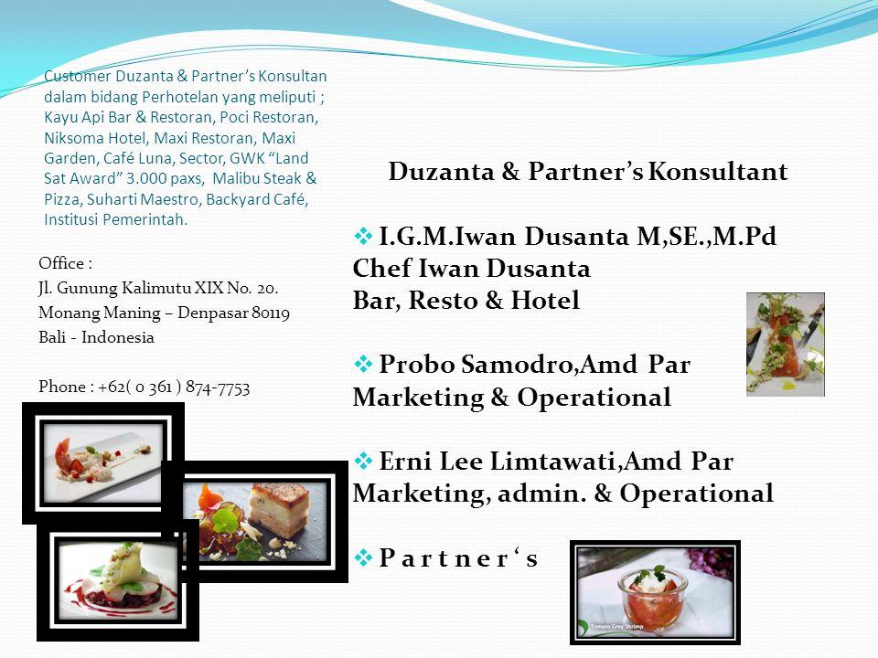 Duzanta & Partner's Konsultant