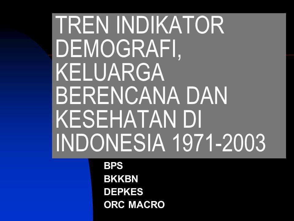 BPS BKKBN DEPKES ORC MACRO