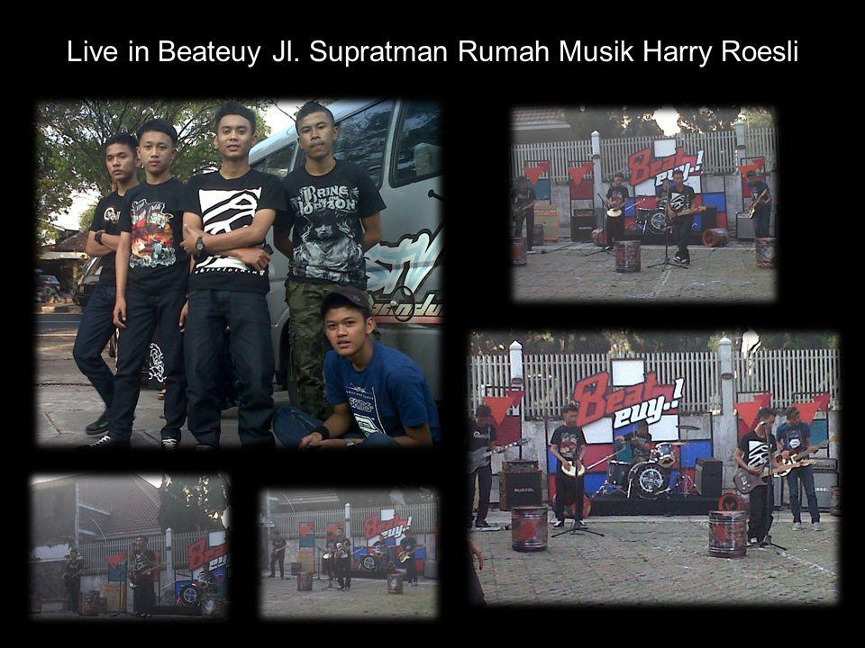 Live in Beateuy Jl. Supratman Rumah Musik Harry Roesli