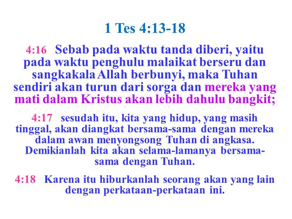 1 Tes 4:13-18