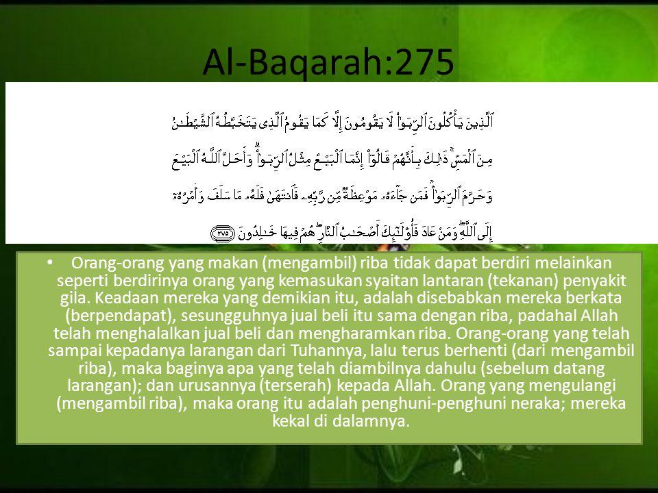 Al-Baqarah:275