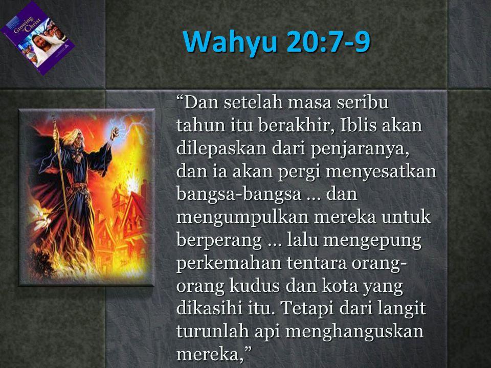 Wahyu 20:7-9