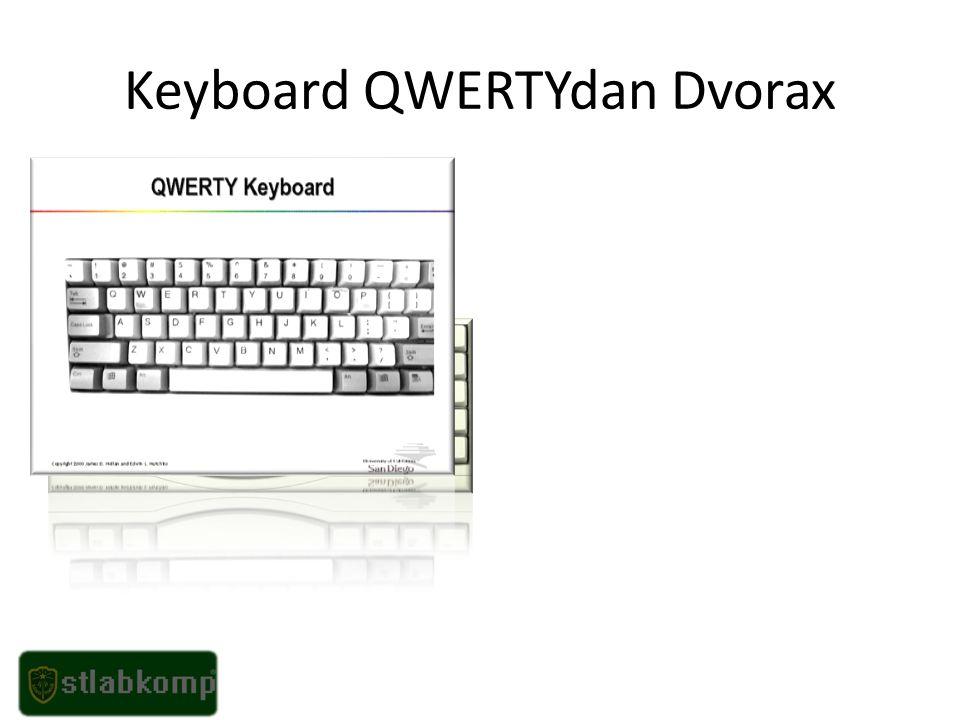 Keyboard QWERTYdan Dvorax