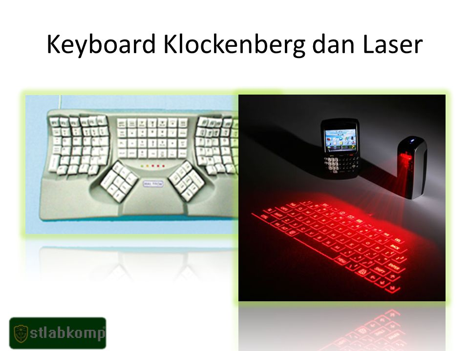 Keyboard Klockenberg dan Laser