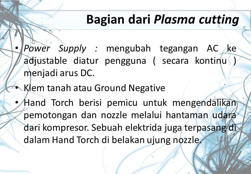 Bagian dari Plasma cutting