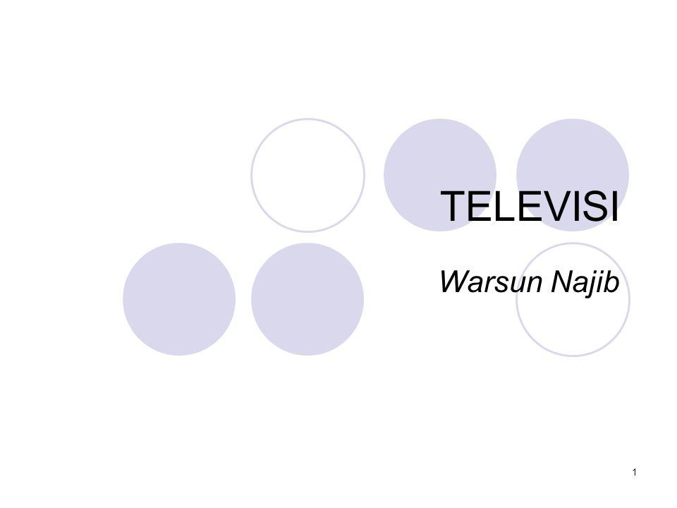 TELEVISI Warsun Najib