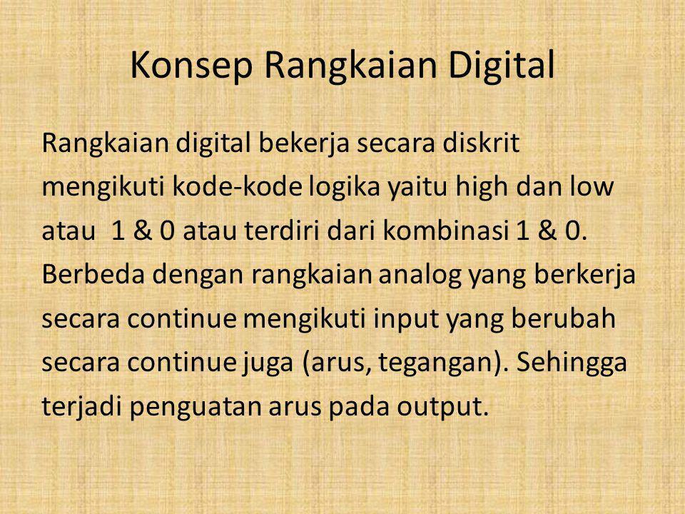 Konsep Rangkaian Digital