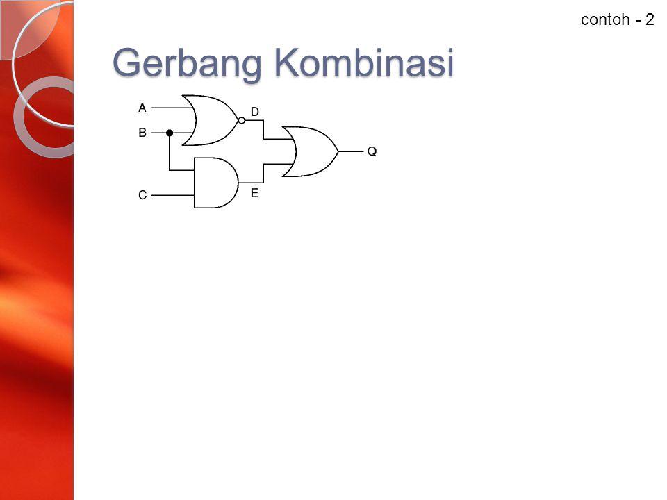 contoh - 2 Gerbang Kombinasi