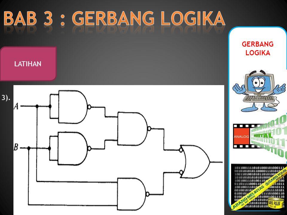 BAB 3 : GERBANG LOGIKA GERBANG LOGIKA LATIHAN 3).