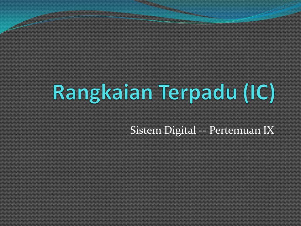 Rangkaian Terpadu (IC)